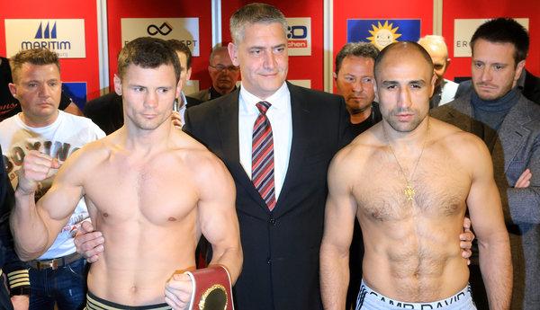 Robert Stieglitz Und Arthur Abraham Genau Im Gewichtslimit Boxen