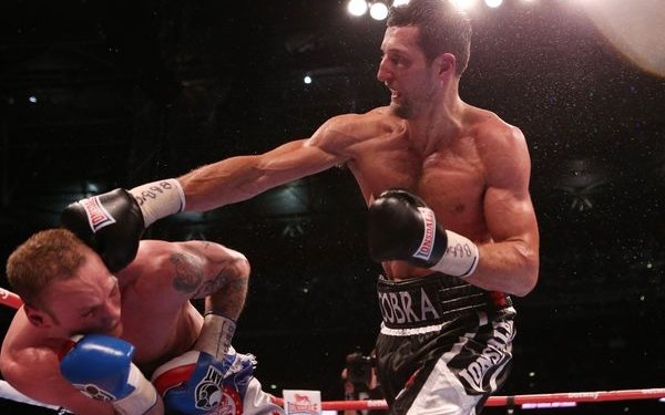 Boxing - IBF and WBA World Super Middleweight Title - Carl Froch v George Groves - Wembley Arena