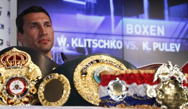 Hamburg:  PK zu Boxkampf  Klitschko vs Pulev