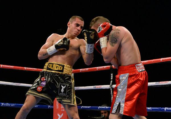 Boxing - WBA World Super Bantamweight Title - Scott Quigg v Stephane Jamoye - Manchester Arena