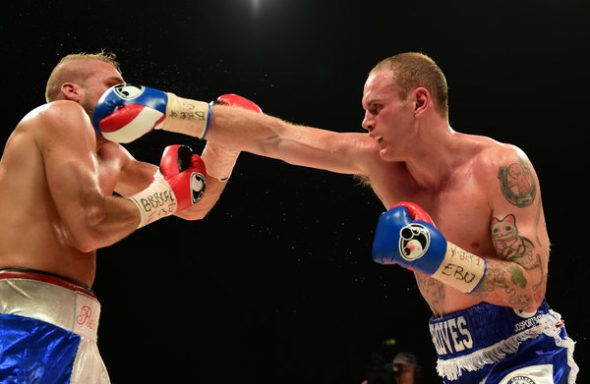 Boxing - EBU and WBC Silver and Final Eliminator Super Middleweight Title - George Groves v Christopher Rebrasse - Wembley Stadium