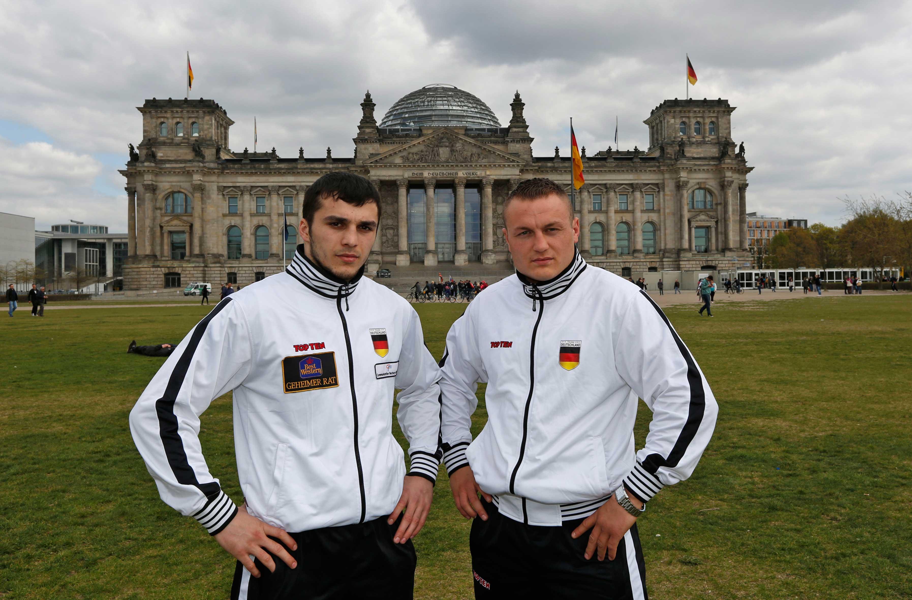 Moritz Stahl und Adam Deines