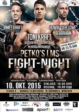 Petko's Fight Night 10-15 2