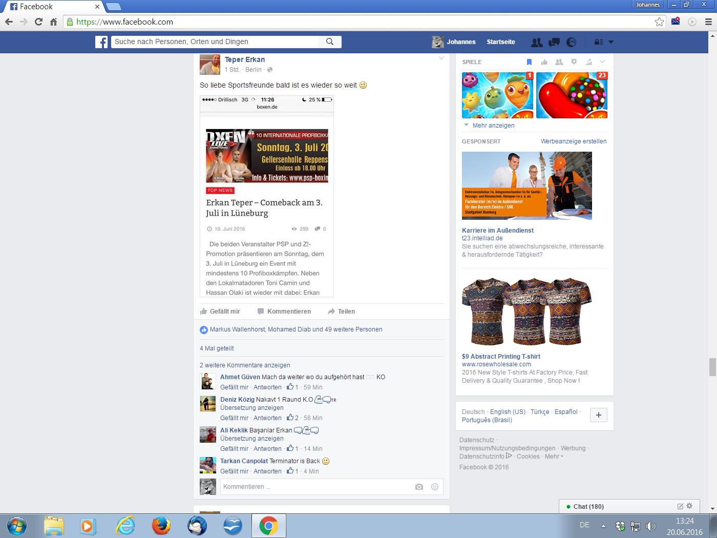 Teper Facebook