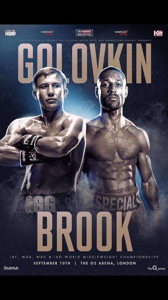 Golovkin vs Brook
