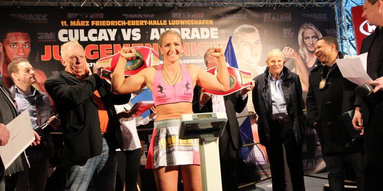 Team Nikki Adler Boxing-Nikki Adler weigh in