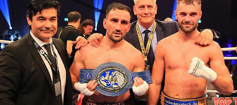 Foto: SES Boxing_Karo Murat, Dominic Bösel
