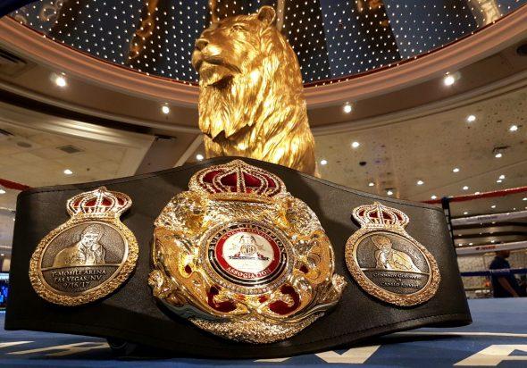 WBA Gürtel Canelo vs GGG