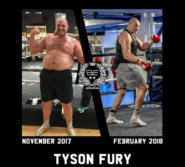 Fury Gewicht