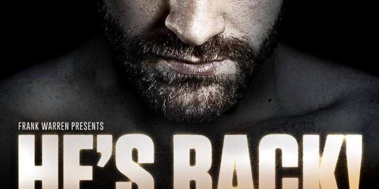 Tyson Fury Back