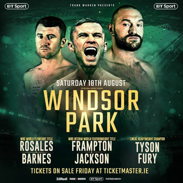 Tyson Fury Vs Francesco Pianeta
