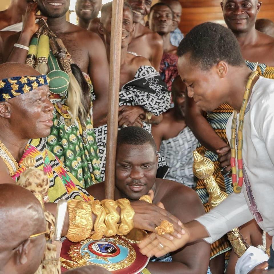 Isaac Dogboe ist der Enkel eines ghanaischen Königs