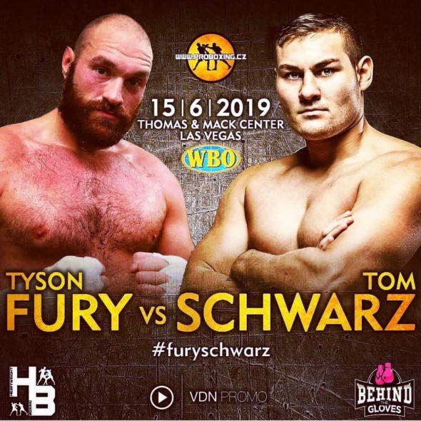 Tyson Fury Vs Tom Schwarz – 15. Juni In Las Vegas