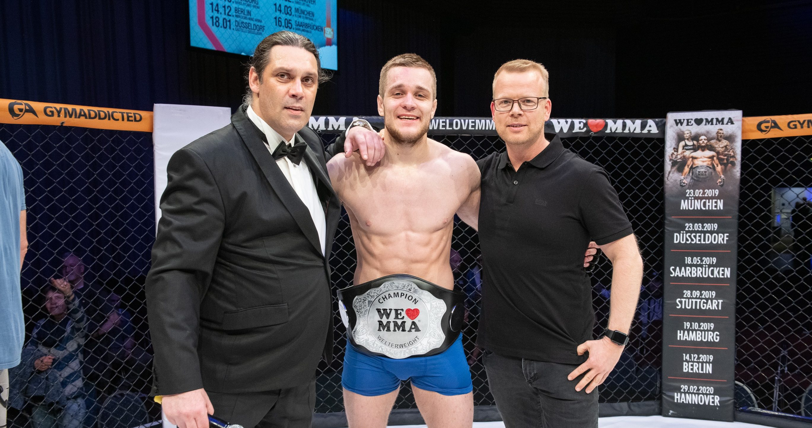 INTERVIEW: ADRIAN ZEITNER - WE LOVE MMA