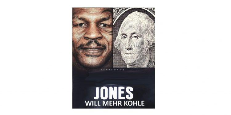 Roy Jones jr will mehr Geld