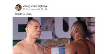 Bild: Zhang Zhilei BigBang / facebook