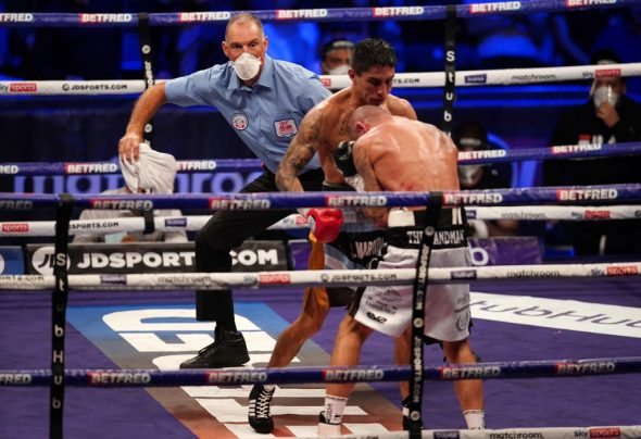 Bild: Matchroom Boxing