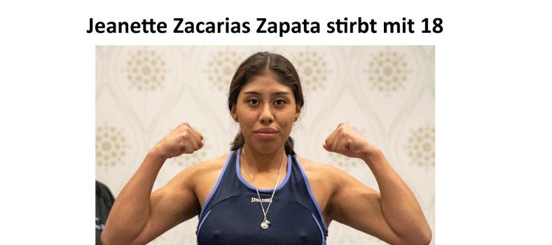 Jeanette Zacarias Zapata / Instagram
